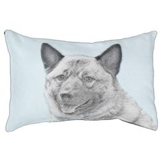 #Norwegian Elkhound Pet Bed - #dogbeds #dogbed #puppy #dog #dogs #pet #pets #cute #doggie