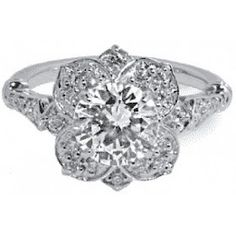 Dogwood blossom ring...I love this more than words!