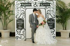 The Dream Board Photo Backdrop - Chalk Shop Events