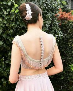 Indian Blouse Designs, Traditional Blouse Designs, New Saree Blouse Designs, Choli Blouse Design, Saree Blouse Patterns, Fancy Blouse Designs, Bridal Blouse Designs, Lehnga Blouse, Stylish Blouse Design