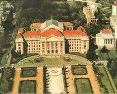 Hungary, Budapest, University, Mansions, Retro, House Styles, Manor Houses, Villas, Mansion