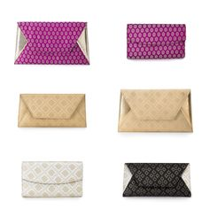 ISLY Fall 13 now available @Heidi Strawser #sona #heera #isly #pink #gold #blacknwhite #clutches #fashion #fall13 #clutchit #accessory