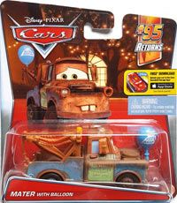 Cars 2016 - #03/07 - Mater with Balloon - Single - 95 Returns