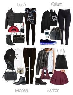 """""""Halsey & 5SOS Inspired Outfits for Concert"""" by fivesecondsofinspiration ❤ liked on Polyvore featuring Forever 21, H&M, Yves Saint Laurent, Calvin Klein, Dickies, Topshop, Marc by Marc Jacobs, MAC Cosmetics, Starry Eyed and Hudson Jeans"""