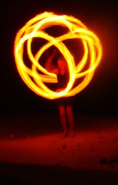 Me....spinning fire poi