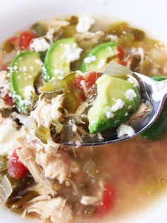 chicken avocado soup 1 lb chicken thawed rotel broth onions and ...