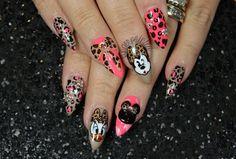 Disney #nails by @Lexi Martone