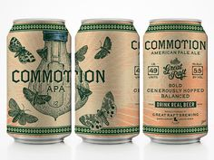 Great Raft Brewing Commotion Cans