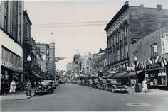 Parkersburg, WV - Downtown - Street(s)? - Year?