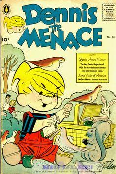 I used to love those little Dennis the Menace comic books