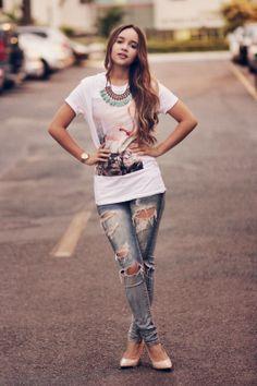 Look do dia: flamingo | Ana's Fashion Blog