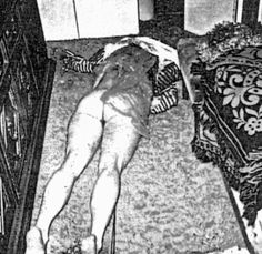 Rosemary LaBianca crime scene photo