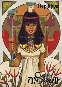1000+ images about Nephthys, Isis, and friends on Pinterest ...