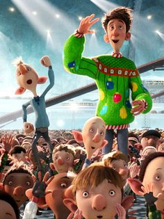 Arthur Christmas - A very cute movie for kids and adults.