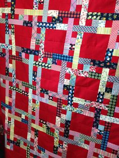 "Well, ""Tartan"" is what MrPnP called it,     when he saw my latest quilt top together!         As this is made from Densye Schmidt's      ""..."