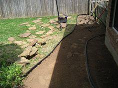 Bridget and Bear: Project: Backyard walkway