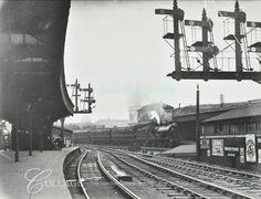 London Bridge Train Station in London Bridge Bermondsey South East London England in 1913