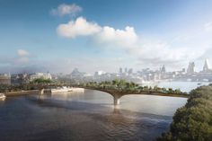 Bridge to the future: London's Thames garden