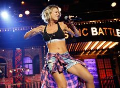"""Kaley Cuoco from Lip Sync Battle Performances  Damn, girl! The Big Bang Theorystar was on fire for her rendition of Ludacris' """"Move Bitch."""""""