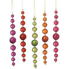 I pinned this Sequin Drop Ornament from the Last Minute Deals event at Joss and Main!
