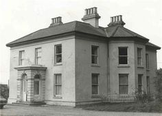 Lord Lieutenant Thomas Enright O'Brien and Harriet O'Brien's SOUTH HILL HOUSE, aka Southill House and Tait House,  Limerick City. For further information on South Hill House  and the O'Briens, please read the comments in the original pin by MsMaine http://www.pinterest.com/pin/188799409352144743/~ Click on the photo for the Death Notice for T.E. O'Brien who was born in Shanagolden, 4 May, 1827.