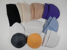 10 Pairs Fabric Lined Foam Padded Shoulder Pads Assorted by 2lewa