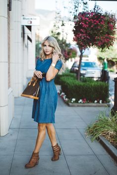 CARA LOREN: A Denim Dress Thing with Mindy Mae's Market
