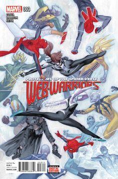 Web-Warriors #3 March 2016 #thenerdrave #marvel #comics #webwarriors #spiderman #spidergwen #spiderham #noir #electro