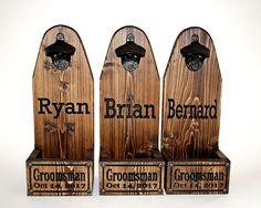 beer bottle opener Beer Bottle Opener, Beer Brewing, Custom Wood, Wood Design, Tree Designs