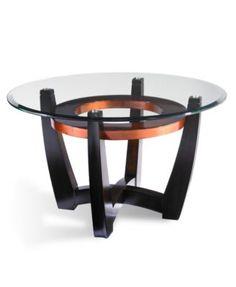 Macy's Elation round coffee table, $299