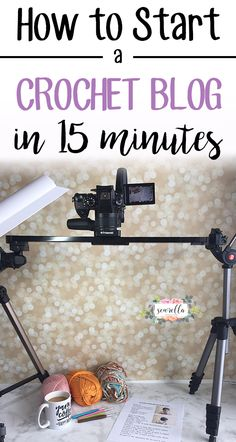 How a normal person started her crochet blog (that's now a full time income!) in just 15 easy minutes | FREE GUIDE from Sewrella