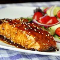 Citrus Orange & Teriyaki Salmon on MyRecipeMagic.com. This is the best salmon!