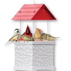Infinity Bird Feeder  |  qcidirect.com
