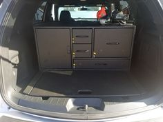 Ford Interceptor Utility EMS Command Cabinet
