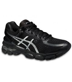 ASICS GEL-KAYANO 22 BLACK/SILVER