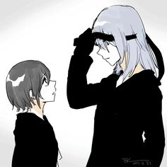 What does Riku see when he looks at Xion...?