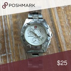 Spotted while shopping on Poshmark: Men's Swiss Army Chronograph Watch! #poshmark #fashion #shopping #style #Swiss Army #Other