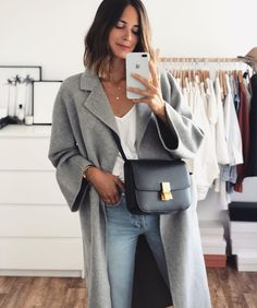 Women& Dresses - 30 additional minimalist outfit ideas for every fall - - Mode Outfits, Jean Outfits, Casual Outfits, Fashion Outfits, Fall Winter Outfits, Autumn Winter Fashion, Spring Fashion, Winter Style, Spring Outfits