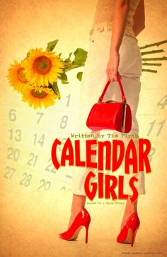 Haven't done a theatre poster for awhile and needed some stress relief so I figured I'd give 'Calendar Girls' a shot.