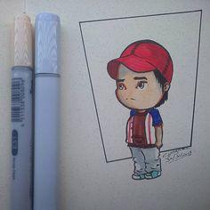 Day 30 By Chagas Ilustrações/Luciana Chagas #inktober2go #inktober #inktober2015