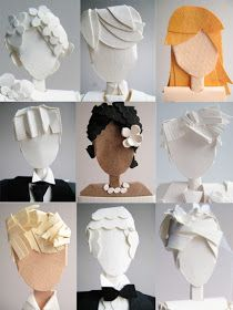 all things paper: Concarta Brides and Grooms