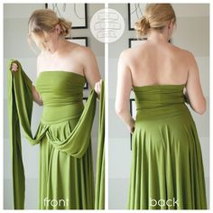 wrap-dress tutorial ~ simple make your own pattern