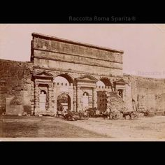 Porta Maggiore Anno: 1850
