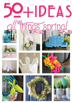 50+ Ideas : All Things Spring! - The Bold Abode