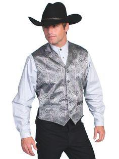 Old West Collection Vest: Rangewear Notched Lapels