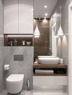 Washroom Design, Toilet Design, Bathroom Design Luxury, Modern Bathroom Decor, Modern Bathroom Design, Bathroom Styling, Small Bathroom, Home Room Design, Bathroom Inspiration
