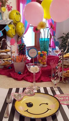 Emoji Birthday Party - Absolutley everything emoji!   The Mulberry Tree in…