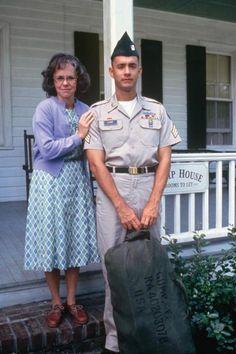 Thomas Hanks as Forrest Gump (& Sally Field)