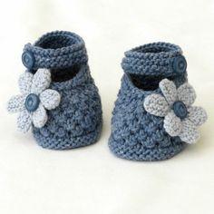 super süße Babyschuhe in Blau