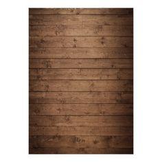 Babys Breath Mason Jar Rustic Wood Bridal Shower Card